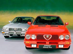Alfa Romeo Sprint 1984